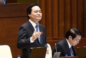 """Bộ trưởng Phùng Xuân Nhạ: Chấm dứt tình trạng """"phân luồng bắt buộc"""", đẩy mạnh phong trào giáo dục STEM"""